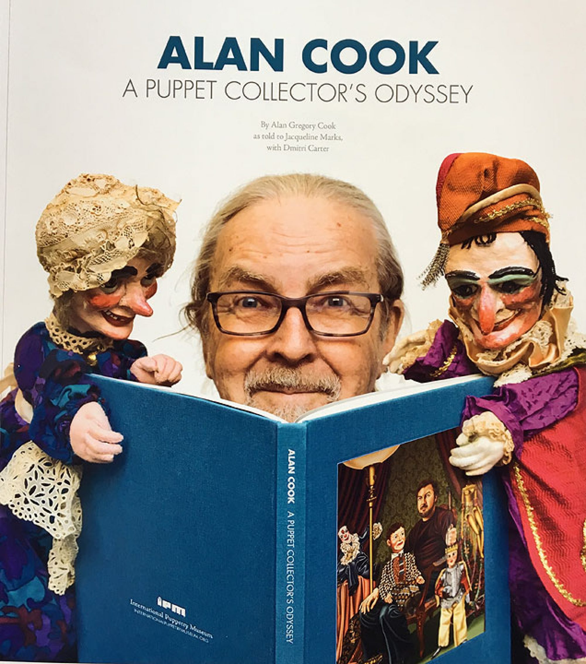 Alan Cook Collectors Odyssey - Puppet Book